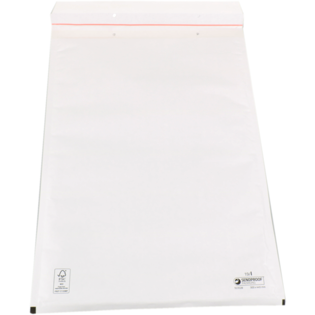 Envelope, Bubble-padded envelopes, 300x445mm, white 1