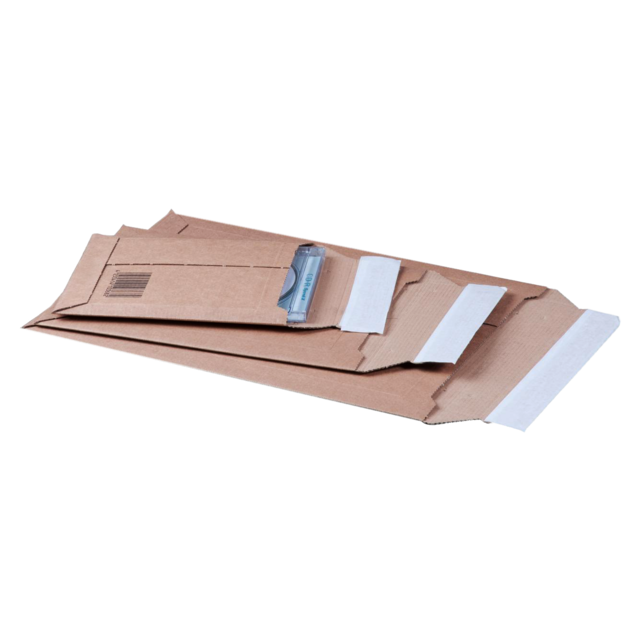 Envelope, Mailing envelope, 35x235x340mm, strip, brown  1