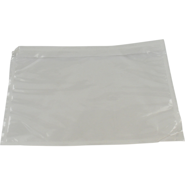 Envelope, Packing list envelope, 122x165mm, white/Transparent 1