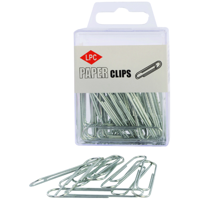 Papierclips, 50mm, metall 1