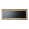 Chalkboard, scaffolding wood, 40x100cm, Brown.