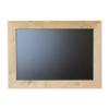 Chalkboard, scaffolding wood, 50x70cm, Brown.