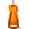 Water bottle, Ø12cm, 420cc, 26gr, 27,3cm, orange .