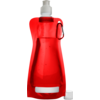 Water bottle, Ø12cm, 420cc, 26gr, 27,3cm, red.