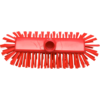 Qleaniq® Scrubbing brush, dekschrobber, red