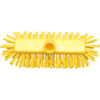 Qleaniq® Scrubbing brush, dekschrobber, yellow
