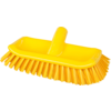 Qleaniq® Scrubbing brush, hoekschrobber, yellow