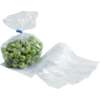 Side fold bag, LDPE, 10/2.5x20cm, 20my, transparent