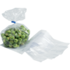 Side fold bag, LDPE, 14/4x35cm, 20my, transparent
