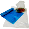 Flat bag, LDPE, 24x36cm, 80my, transparent