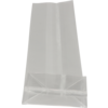 Bag, Block bottom bag, PP, 8/ 5x25cm, 40my, transparent