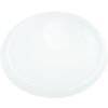 Lid, round, 262x262x25mm, white