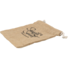Sweet bag, Jute, 20x15cm, brown