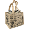 Bag, Best beer, PP, deluxe carrier bag, 21x14x18cm, beer, brown