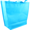 Bag, Non-woven, Taps toelopend, 50x 16x40cm, carrier bag, blue