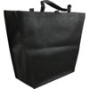 Bag, Non-woven, Taps toelopend, 50x 16x40cm, carrier bag, black