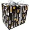 Gift-wrapping paper, 50cm, 200m, Wine pattern,