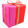 Gift-wrapping paper, 50cm, 260m, 659, red/Pink