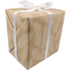 LOVLY® Gift-wrapping paper, 50cm, 200m, 60gr/m², Naturals veren, 795, naturel/Wit