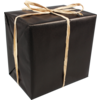 Gift-wrapping paper, 30cm, 250m, 896, black