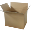 Carton palettisable, Carton ondulé, 1180x780x780mm, double cannelure, brun