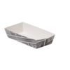 Container, Karton/Coating, snack box, 150x70x35mm, white/Grey