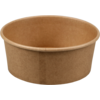 Container, Kraft et plastique , 750ml, bowl, 60mm, brown