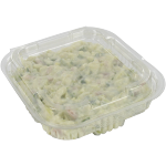 Barquette, PET, 250ml, barquette salade, 132x132x30mm, transparent