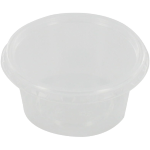 Container, PP, 80ml, Ø72mm, plastic cup, 35mm, transparent
