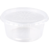 Container, PP, 250ml, Ø101mm, ripple cup, transparent
