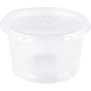 Container, PP, 300ml, Ø101mm, ripple cup, transparent