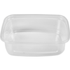 Container, PP, 150ml, plastic cup, 108x82x30mm, transparent