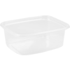 Container, PP, 200ml, plastic cup, 108x82x40mm, transparent