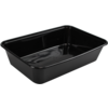 Container, PP, 500ml, 172x120x35mm, black