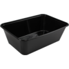 Container, PP, 750cc, 172x120x50mm, black