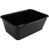 Container, PP, 1000cc, 172x120x60mm, black