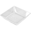 Depa Catering serving tray , amuse dish, PS, square , 64x64mm, transparent
