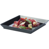 Depa Catering serving tray , amuse dish, PS, square , 130x130mm, black