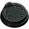 I'M Concept Lid, I'M a HOT cup, PS, Ø79mm, black