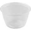 Container, PP, 118ml, Ø76mm, plastic cup, 46mm, transparent