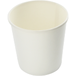 Soup bowl, Cardboard, 400ml, 16oz, white