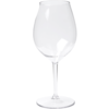 Glass, wine glass, PETG, durable (500x), 510ml, transparent