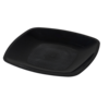 Depa Plate, square ,  dessert plate, classic, PS, 180x180mm, black