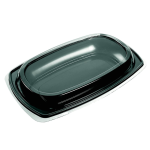 Depa Catering serving tray , catering platter, PS, rectangular, 300x190mm, black