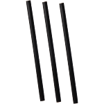 DEPA® Drinking straw, cocktail drinking straw, PP, 140mm, black