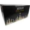 Christmas gift box, Golden Tree, Cardboard, 55x39x30cm, Christmas , e, black