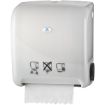 Qleaniq®, Hand towel dispenser, PS, design luxury, , white