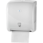 Qleaniq®, Hand towel dispenser, PS, design luxury, inter-fold , white