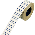 Label, Price label, Paper, 21x12mm, blue