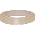 Packing tape, PP, 15mm, 66m, transparent